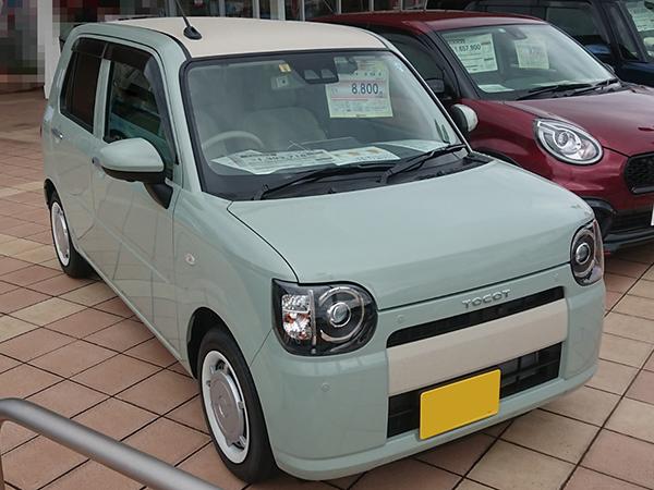 ダイハツの新型車ミラトコット ミラココアやミラジーノの後継車種
